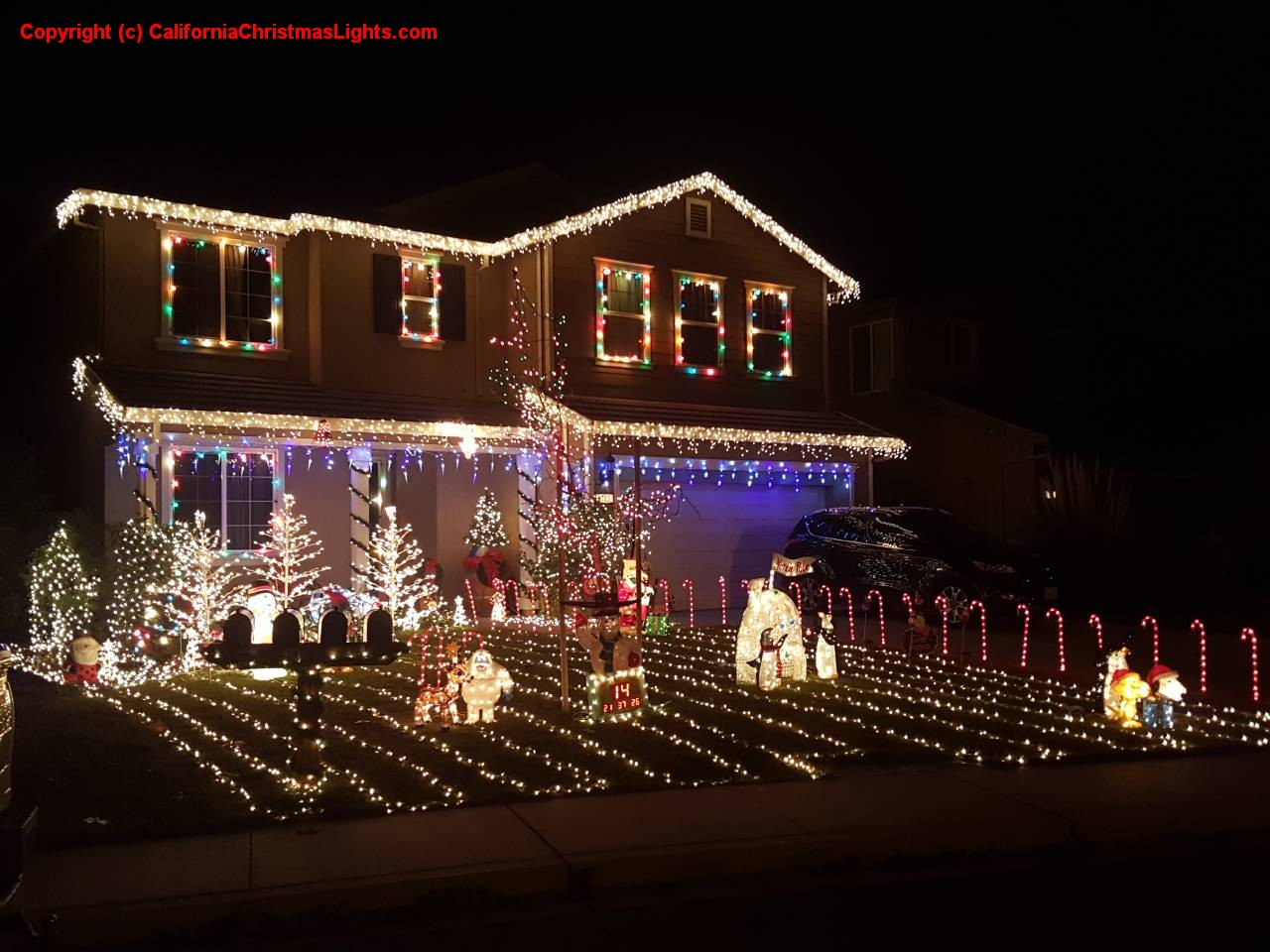 Best Christmas Lights and Holiday Displays in Oakley, Contra Costa ...