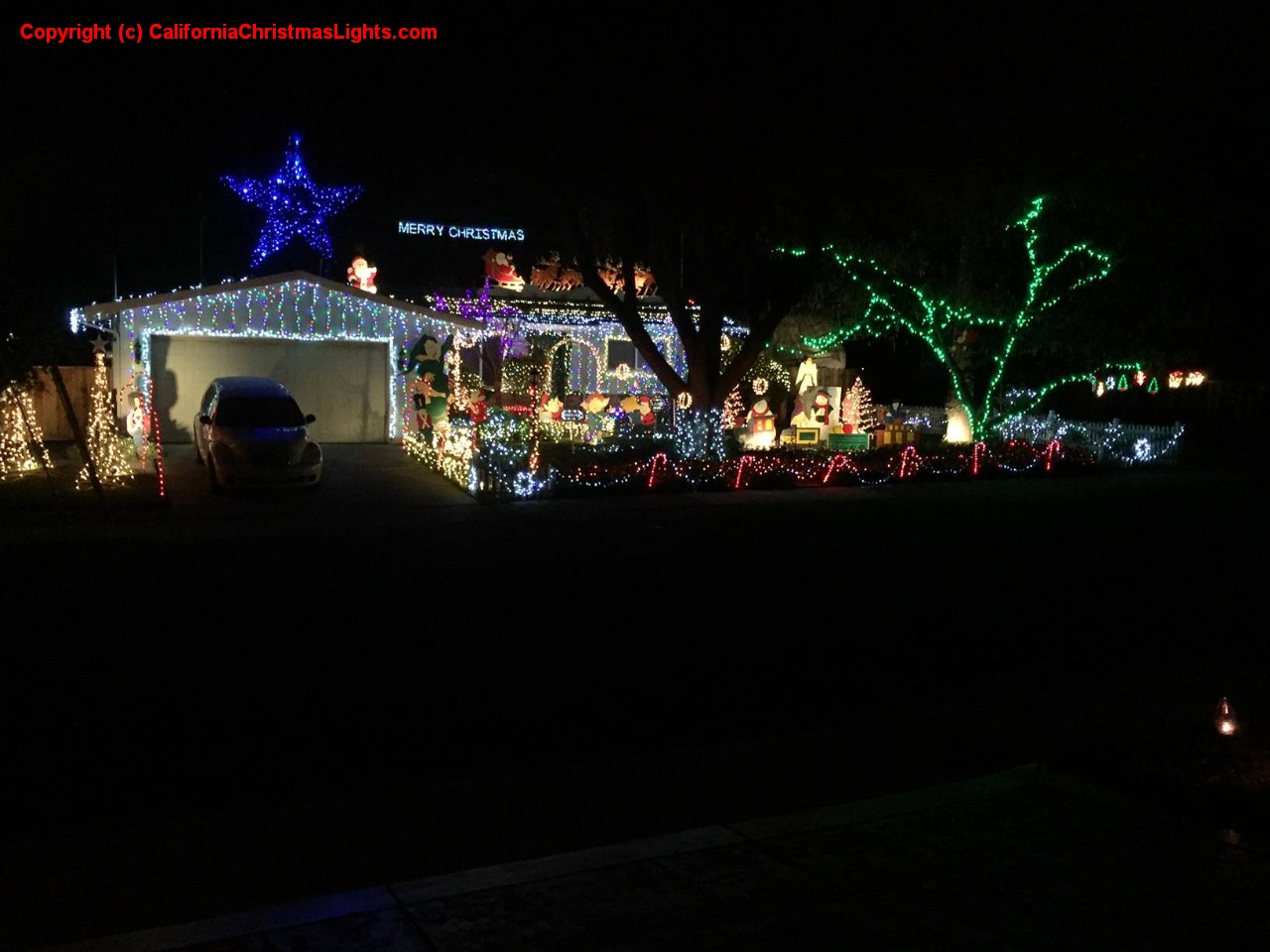 Best Christmas Lights And Holiday Displays In Concord