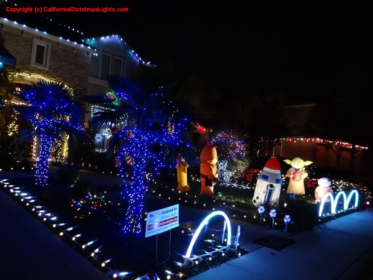 Holiday Display At 6904 Paul Do Mar Way