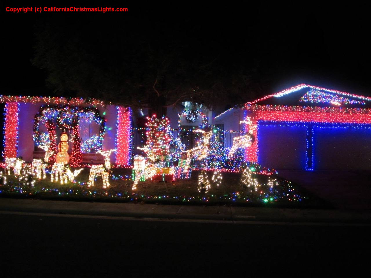 Best Christmas Lights In Sacramento 2020 Best Christmas Lights and Holiday Displays in elk grove