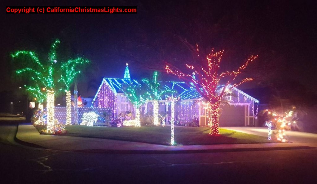 Photo 1 - Christmas Lights / Holiday Display At 3801 Longhorn Lane, Oakley CA