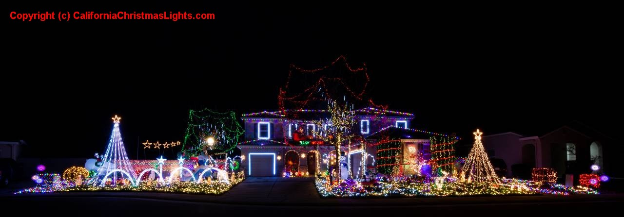Photo 1, Photo 2, Photo 3 - Christmas Lights / Holiday Display At 8486 Mainstay Ct, Elk Grove CA